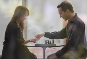 Chess game for two