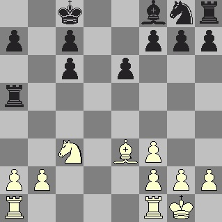 Black's 13th move was Ra5