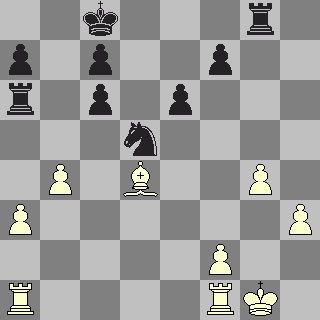 Black allowed White a protected passed pawn (on h3)
