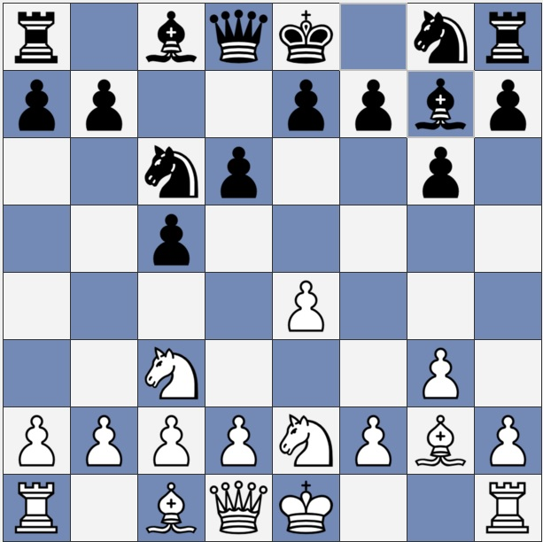 Simul. chess game, Jonathan Whitcomb versus Alexander Gustafsson