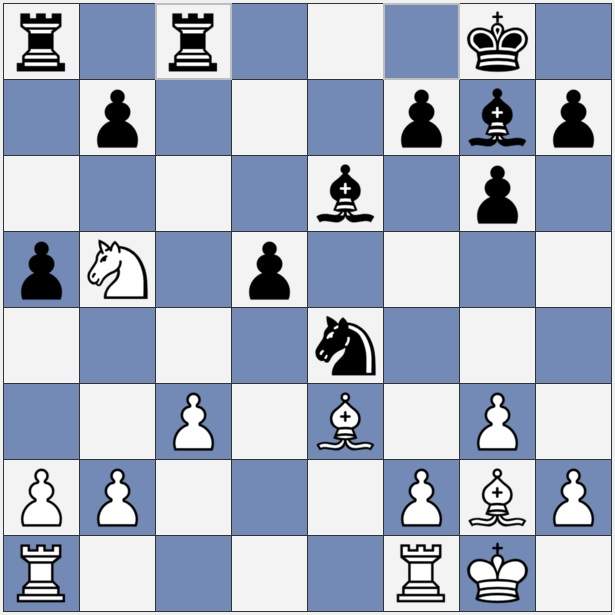 White should now move a4